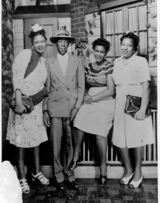 Mr. Ulysses Brooks and his cousins ca. 1930s | Submitted by: Deborah Singletary